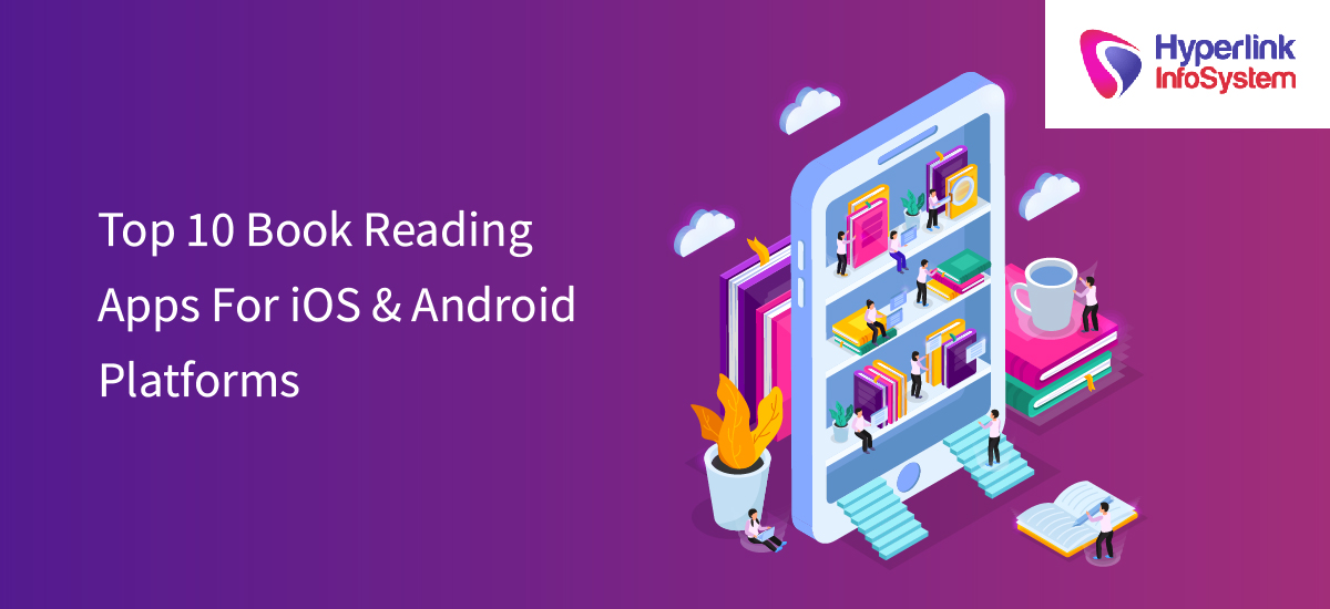 top 10 book reading apps for ios and android platforms