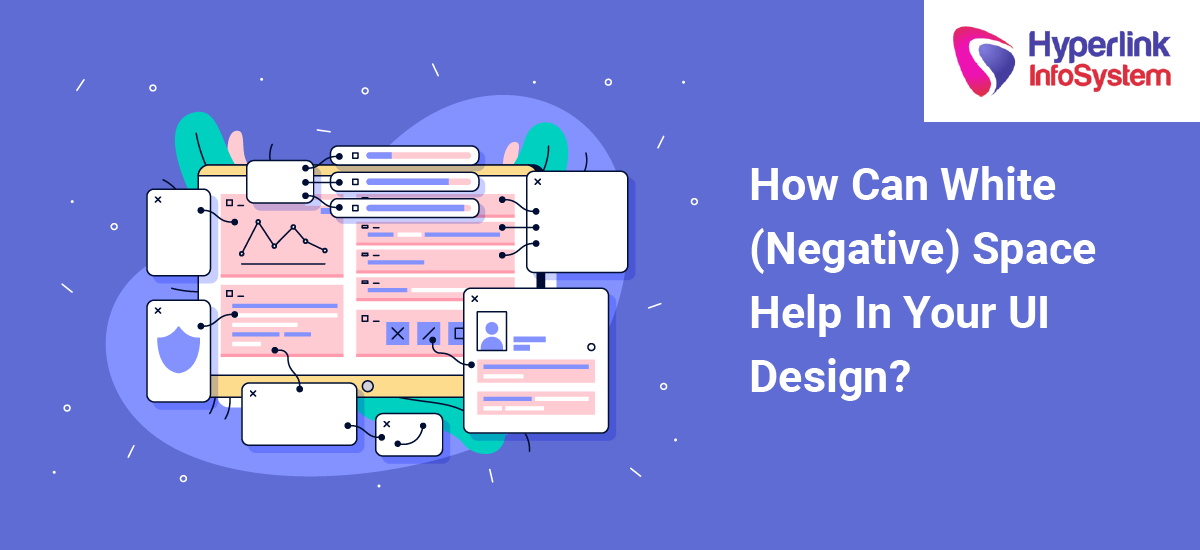 how can white (negative) space help in your ui design