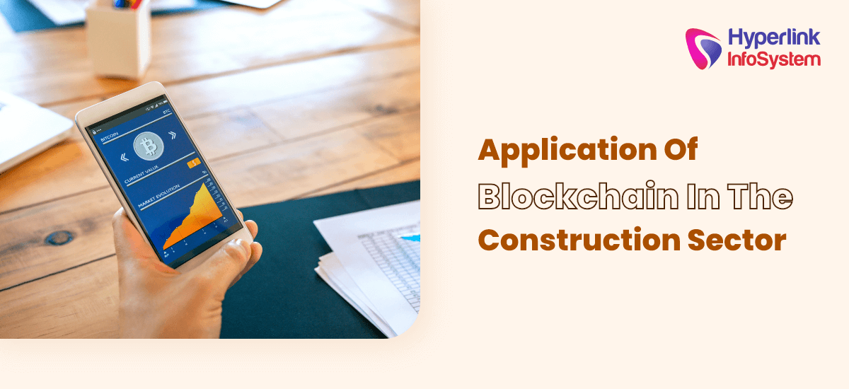 application of blockchain in the construction sector