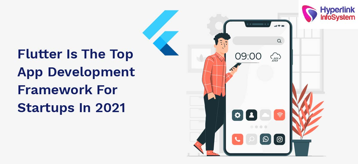 flutter is the top app development framework for startups in 2021