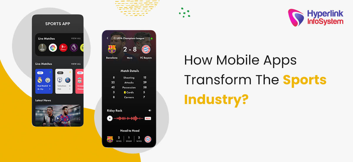 how mobile apps transform the sports industry