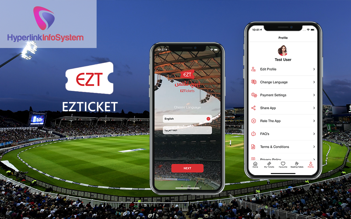 event ticket booking app