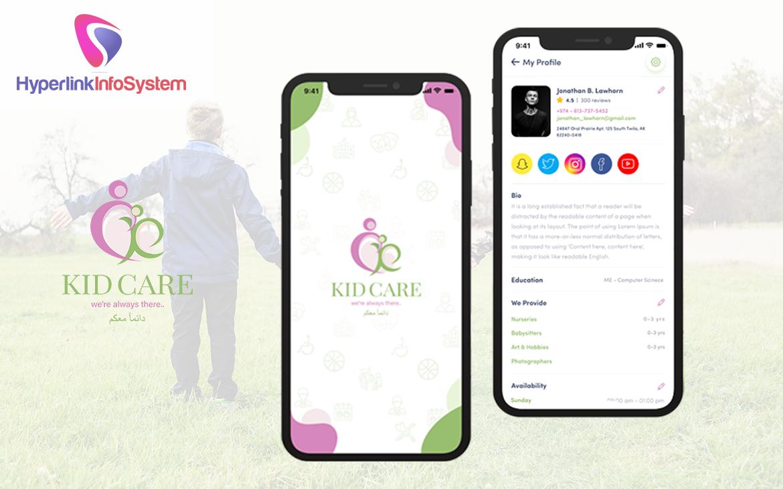 kids care app development
