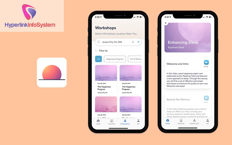 meditation app development