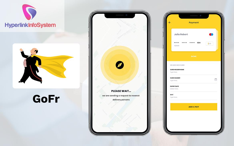 goods delivery app development