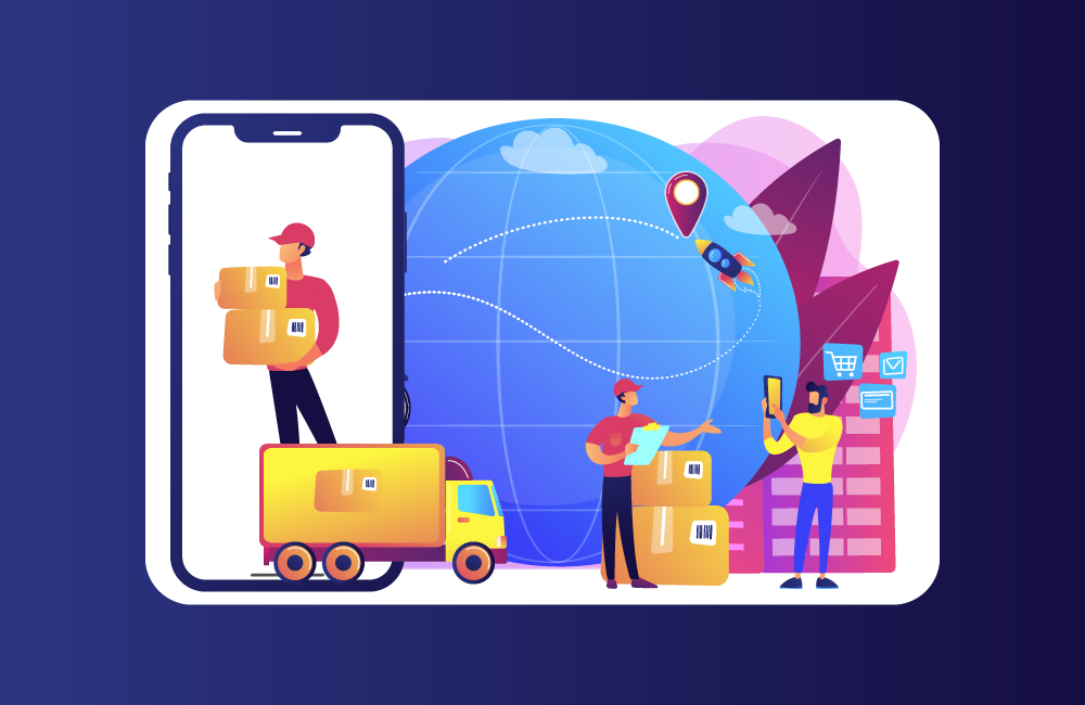 courier delivery app development company