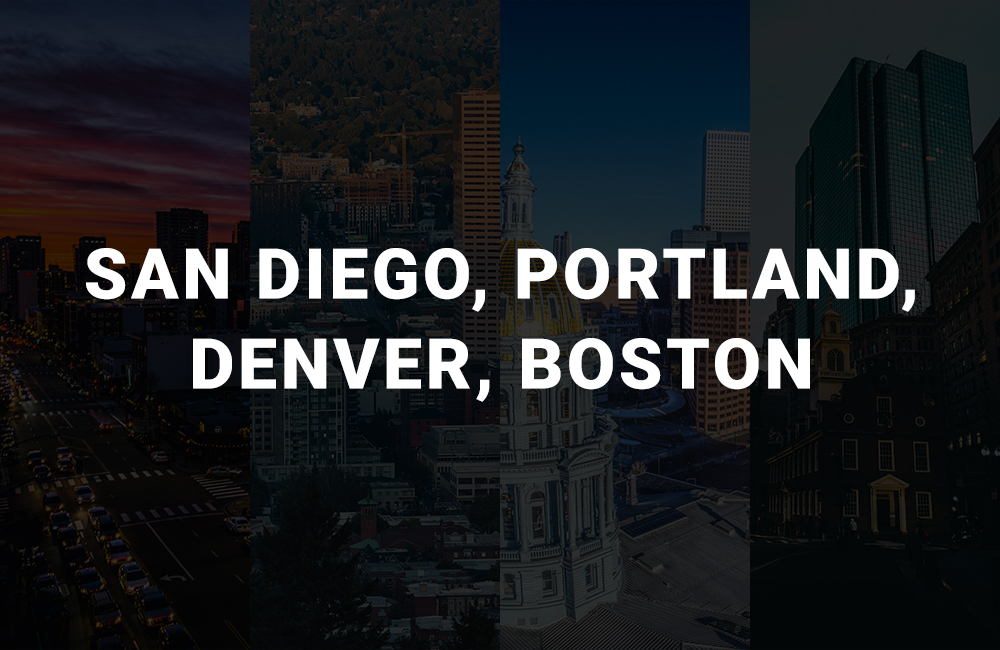 top mobile app development company in san diego, portland, denver, boston