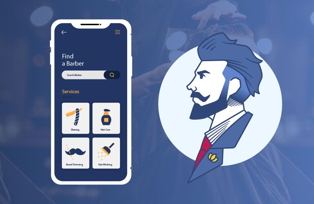 ondemand mobile app development for barbers