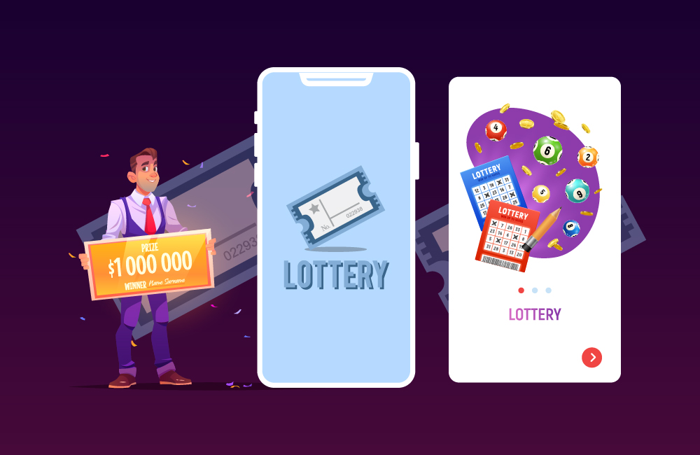 lottery ticket booking app