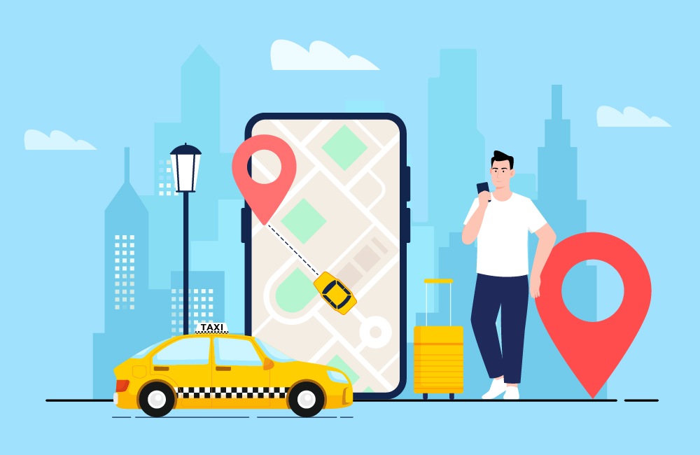 how to develop user friendly taxi app for android and ios