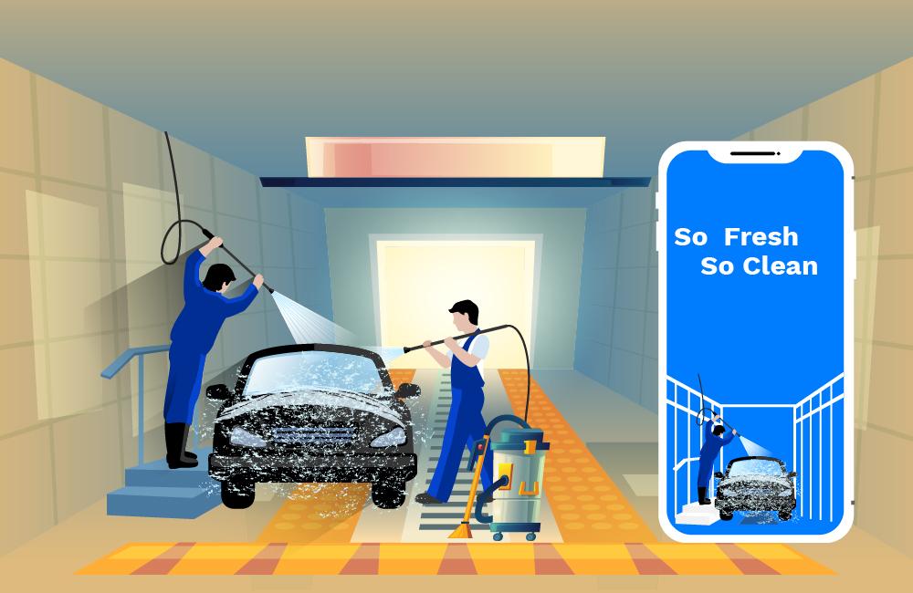 car wash app