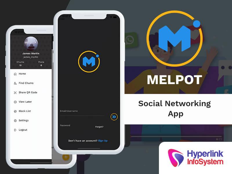 melpot social networking app