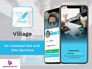 village on demand sell and hire servcies