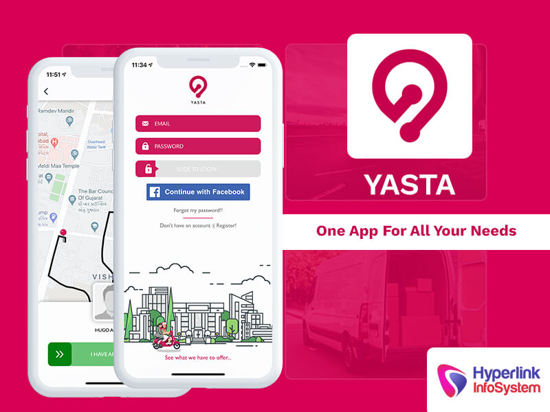 yasta one app for all your needs