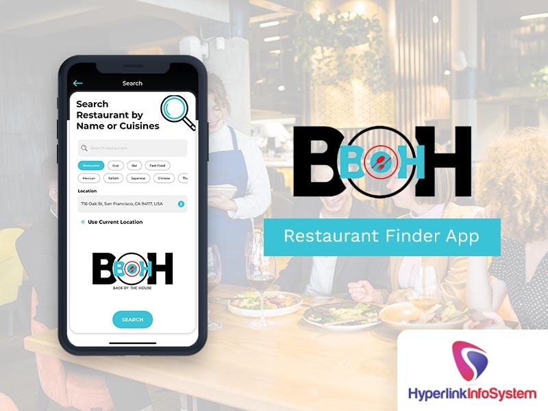 boh restaurant finder app