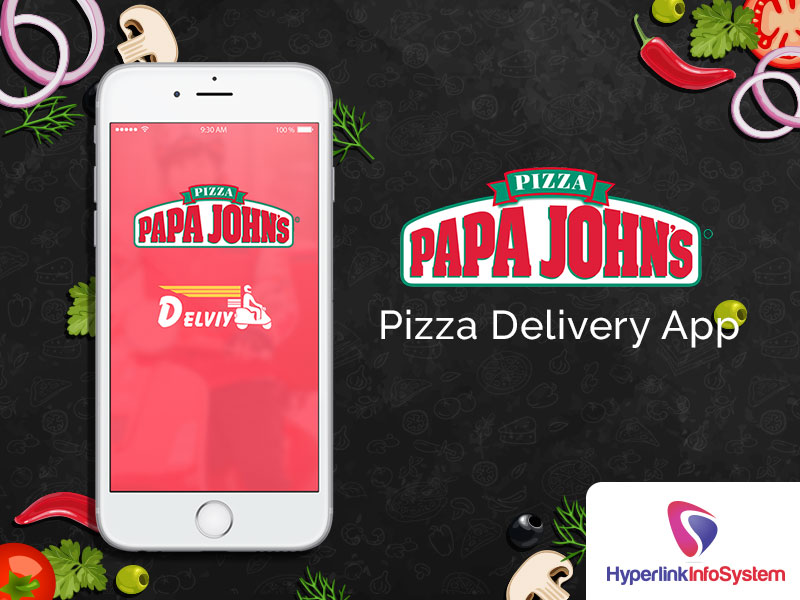 papa johns pizza delivery app
