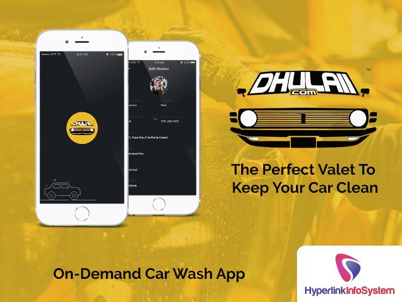 dhulaii on demand car wash app