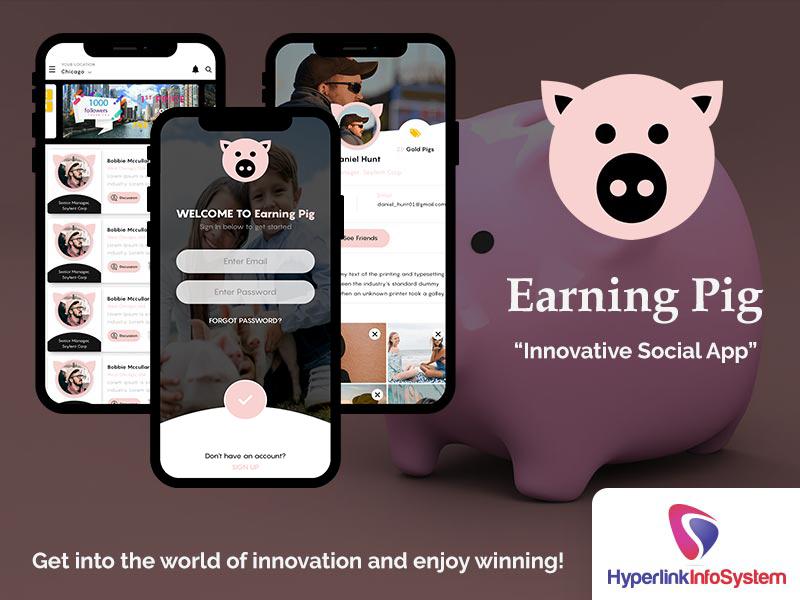 earning pig innovative social app