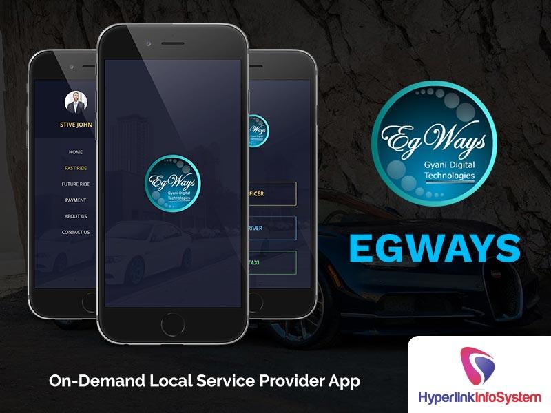 egways on demand local service provider app