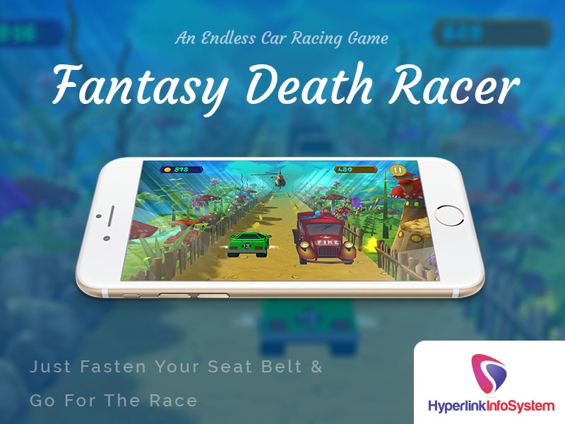 fantasy death racer just fasten your seat bealt & go for the race