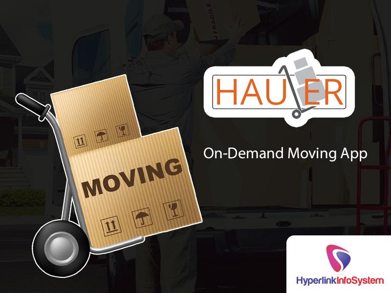 hauler on demand moving app