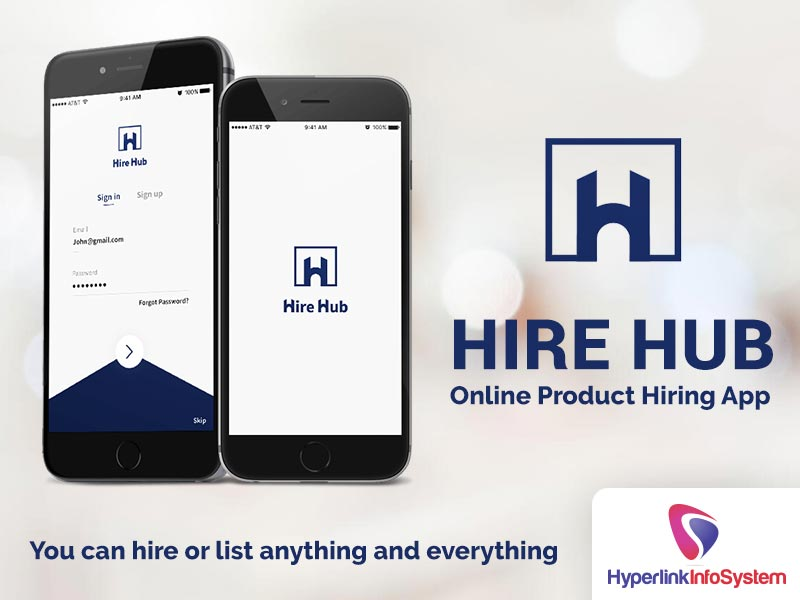 hire hub online product hiring app