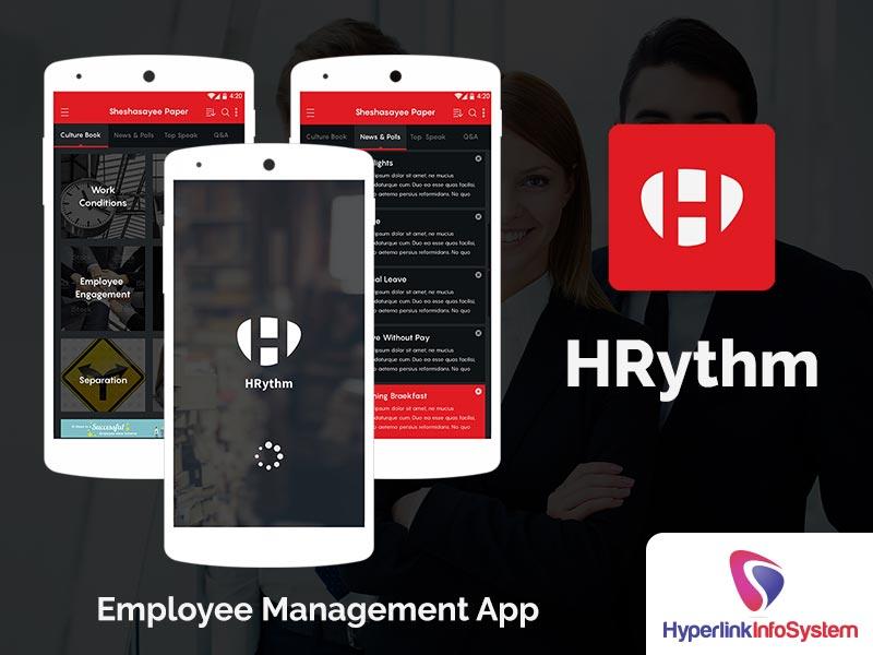 hrythm employee management app