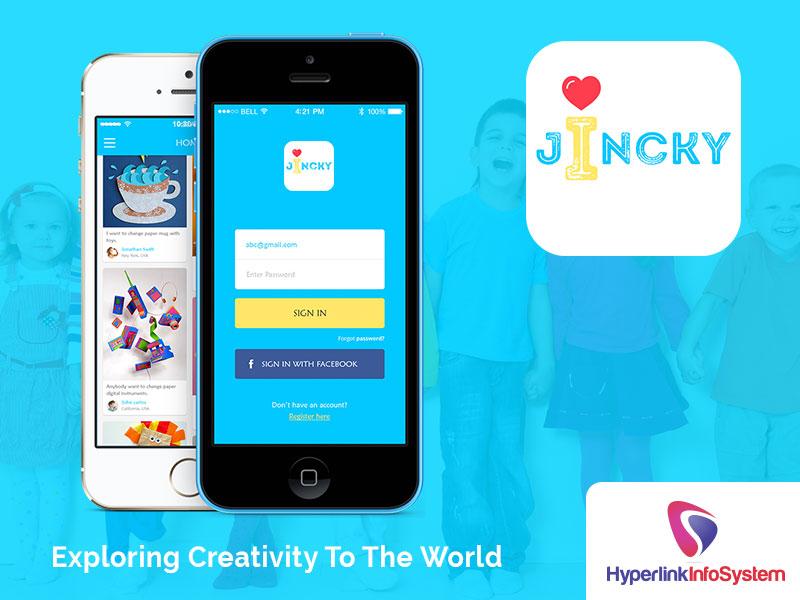 jincky exploring creativity to the world