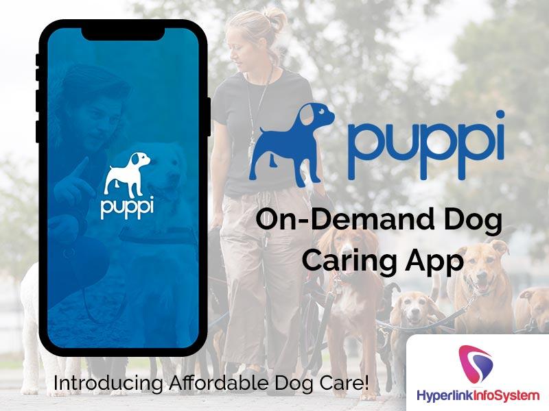 puppi on demand dog caring app
