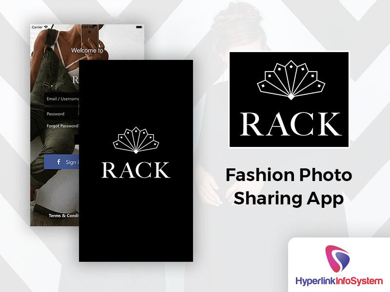 rack fashion photo sharing app