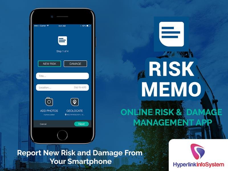 risk memo online risk damage management app