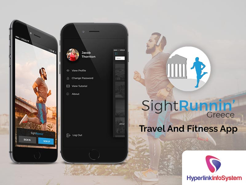 sightrunnin travel and fitness app