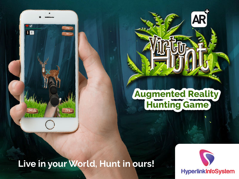 virtuhunt augmented reality hunting game