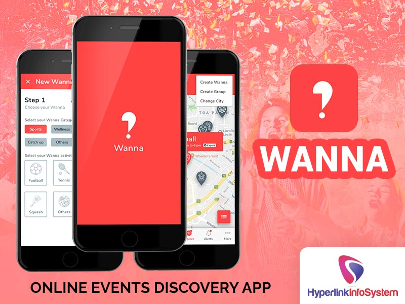 wanna online events discovery app