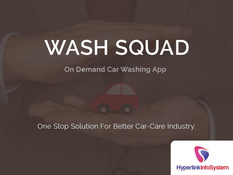 wash squad on demand car washing app