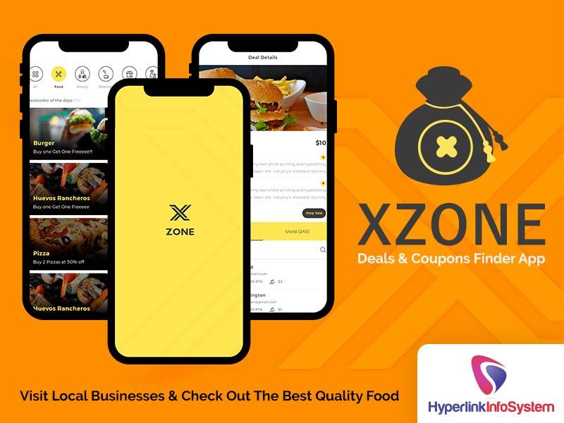 xzone deals coupons finder app