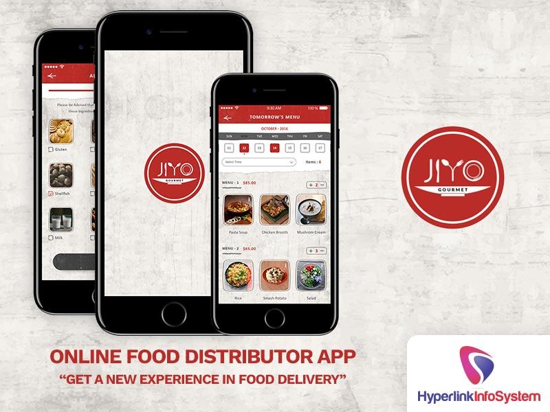 jiyo online food distributor app