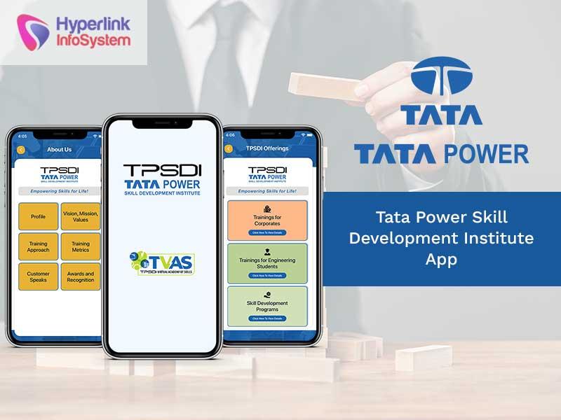 tata power skill development institute app